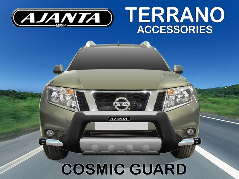AJANTA-FRONT-GUARD-NISSAN-TERRANO-COSMIC-GUARD-NEW-PRODUCTS-AJANTA-TERRANO-INDIA