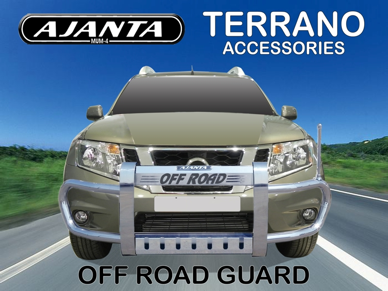 AJANTA-NISSAN-TERRANO-OFFROAD-GUARD-STEEL-CRASH-GUARD-GUARD-MANUFACTURE-INDIA.