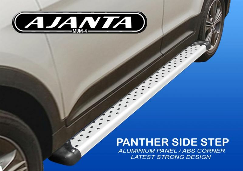 HYUNDAI CRETA SIDE FOOT STEPS ALUMINIUM PANTHER SIDE GUARD AJANTA MUMBAI india