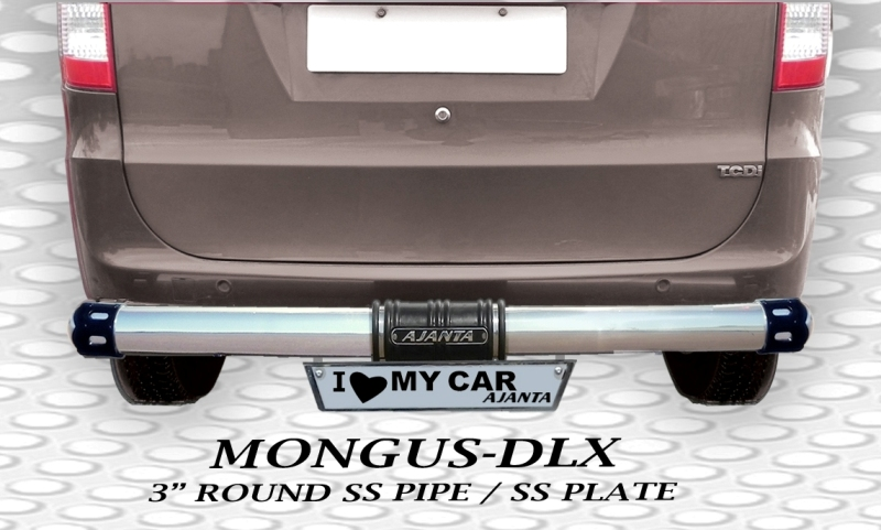 ENJOY REAR GUARD MONGUS-DLX 3inch STEEL pipe_AJANTA ENTERPRISE_MUMBAI