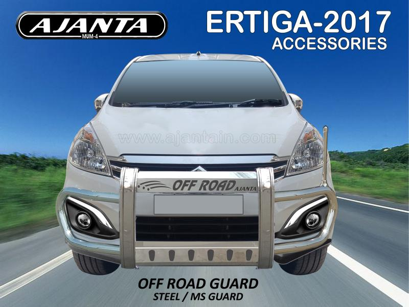 ERTIGA OFFROAD FRONT STEEL GUARD. FRONT PROTECTION GUARD FOR CAR-SUV FRONT GUARD