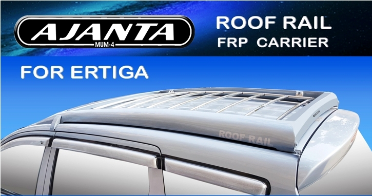 ERTIGA ROOFRAIL CARRIER FRP-STEEL-BODY COLOR-AJANTA-MUMBAI-INDIA-MANUFACTURE-
