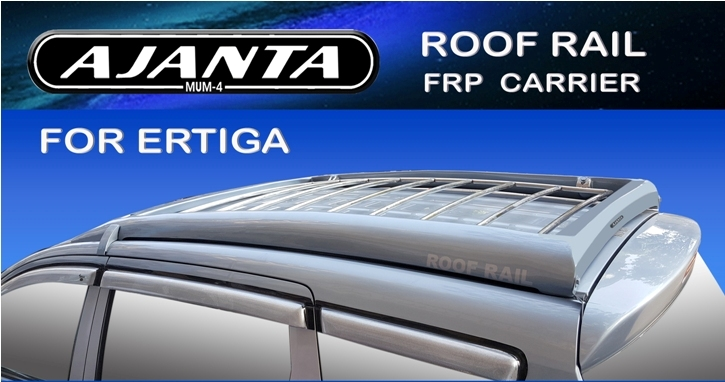 ERTIGA ROOF RAIL CARRIER-BODY MACHING COLOR CARRIER-FLAT BODY TOUCH CARRIER-MFG.