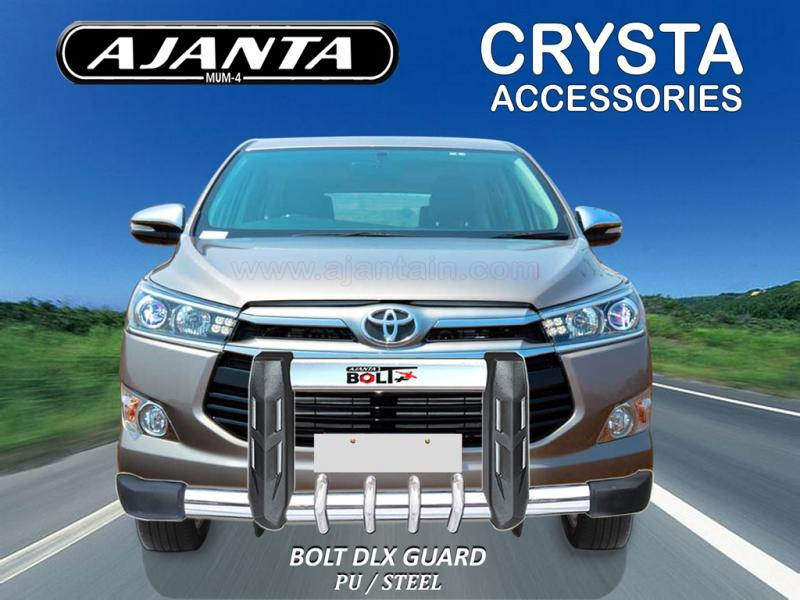FRONT GUARD FOR-NEW-INNOVA CRYSTA-BOLT DLX FRONT GUARD-AJANTA-AUTO ACCESSORIES.