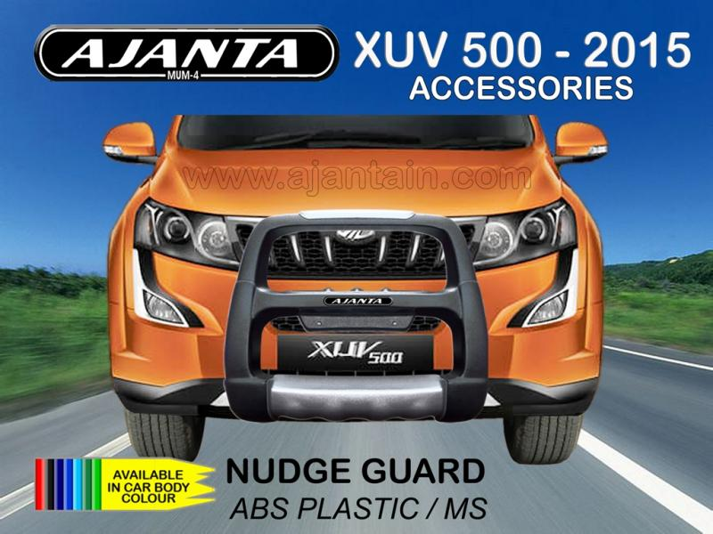 ABS FRONT GUARD, NUDGE GUARD ABS-MS BUMPER GUARD FOR NEW XUV 500 2015 AJANTA MUM