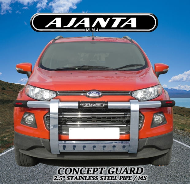 Ford-EcoSport-front-guard-concept-bumper guard-ajanta-guard-eco sprot accessorie
