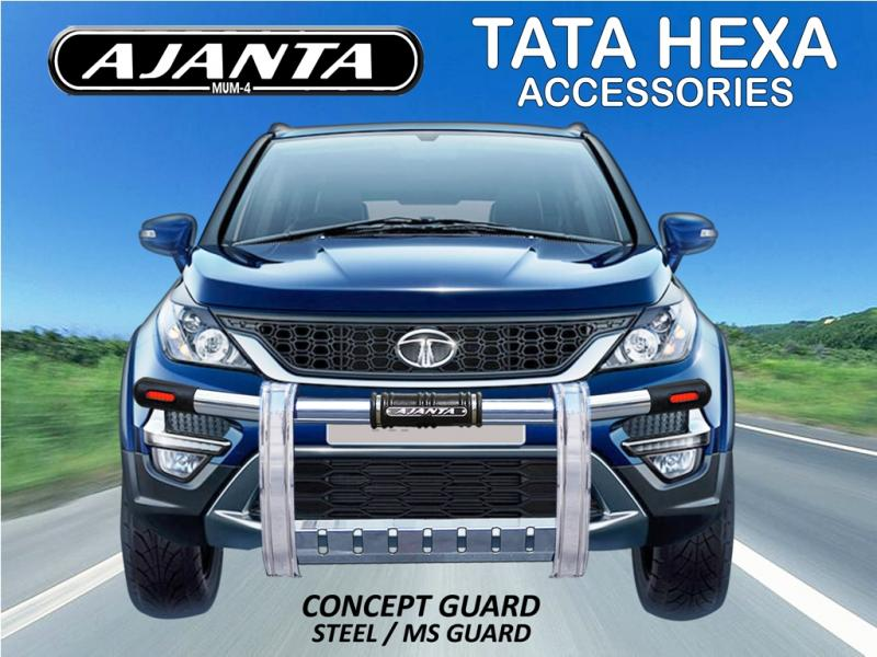 HEXA CONCEPT GUARD FOR TATA HEXA ACCESSORIES-AJANTA SAFETY GUARD-MANUFACTURERS.
