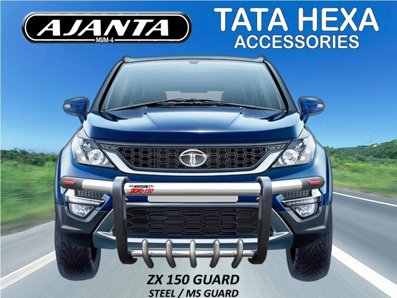 HEXA LATEST FRONT GUARD ACCESSORIES FOR TATA HEXA-AJANTA ZX-150 GUARD-MANUFACTUR