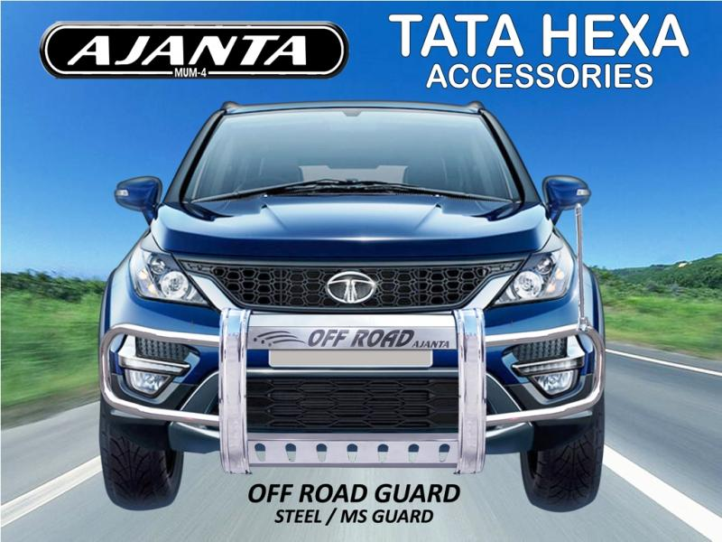 HEXA SAFETY GUARD STEEL BUMPER-FRONT GUARD-OFFROAD GUARD-AJANTA LATEST GUARD MFG