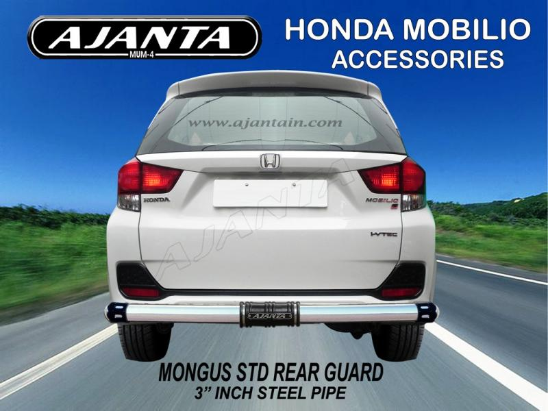 HONDA-MOBILO-ACCESSORIES-MONGUS-STD-REAR-GUARD-AJANTA-BACK-GUARD-SS-REAR-GUARD.