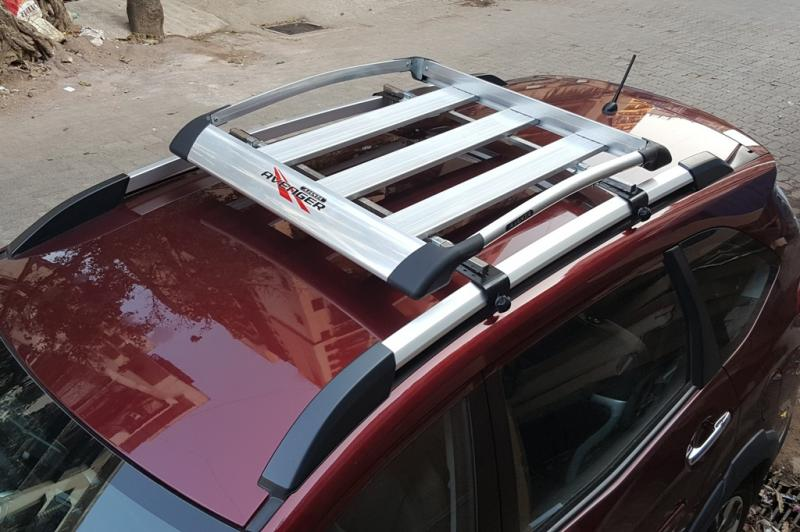 HONDA BRV ACCESSORIES-ROOF RACK-LUGGAGE CARRIER-AJANTA AVANGER FULL ALUMINIUM.