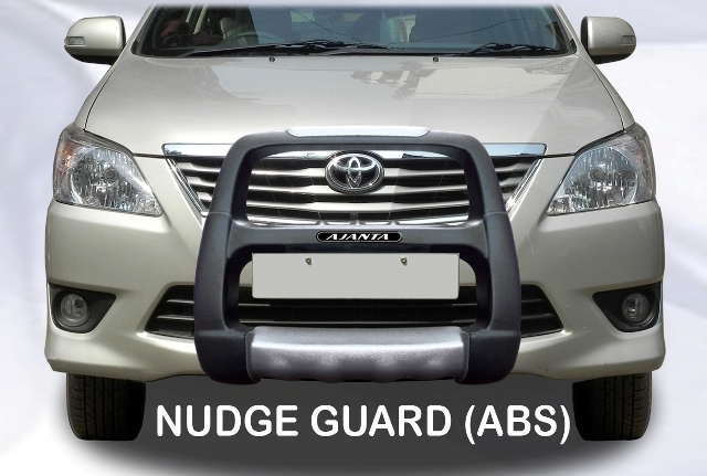 INNOVA 2012-NUDGE GUARD-FRONT GUARD ACCESSORIES-SAFTY GUARD-ABS-MS.
