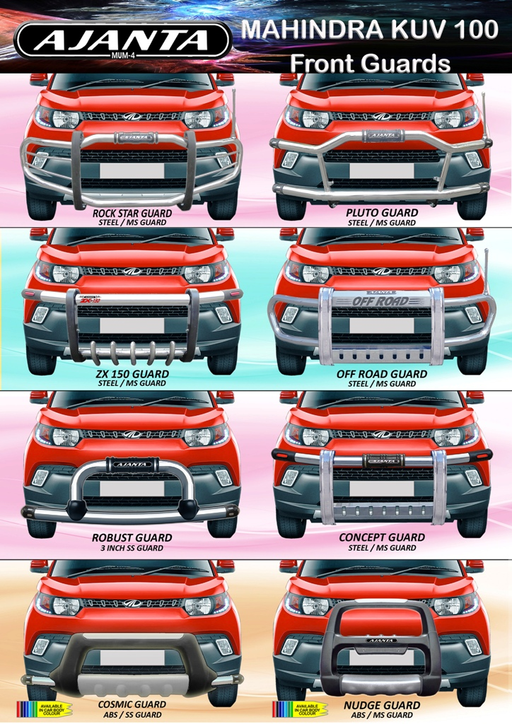KUV-100-accessories-ajanta-front-steel-bumper-guard-manufacture-india-mumbai-4
