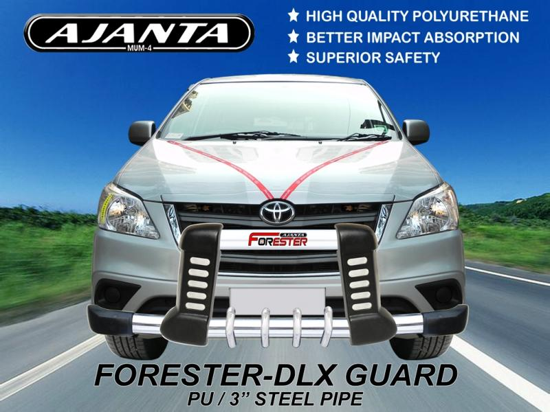 LATEST-INNOVA-FRONT-GUARD-FORESTER-DLX-PU-STEEL-GUARD-AJANTA-MUMBAI-MANUFACTURE.