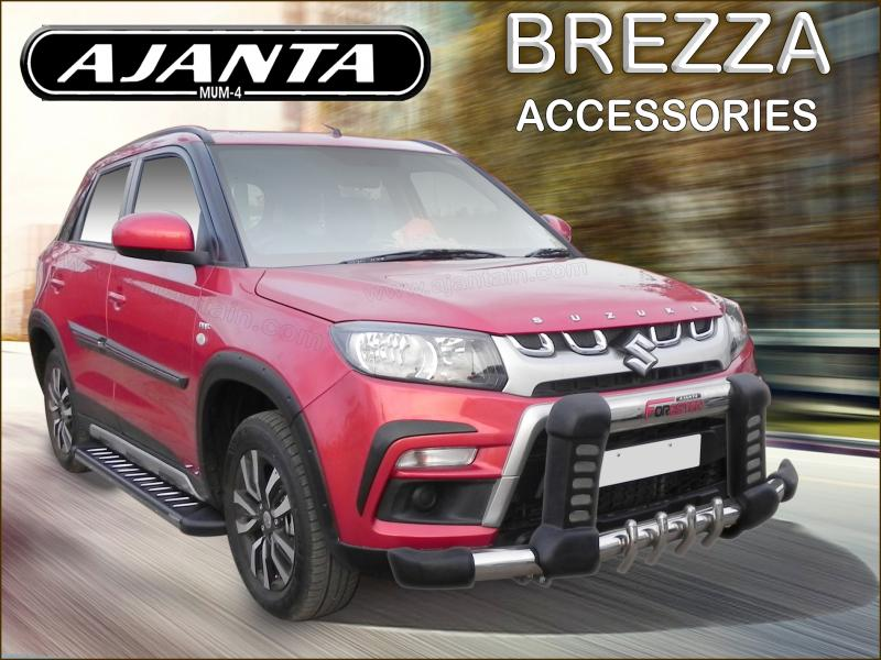 MARUTI-BREZZA-INDIA-ACCESSORIES-MANUFACTURE-FRONT-GUARD-SIDE-STEP-ROOF-RACK.mum4