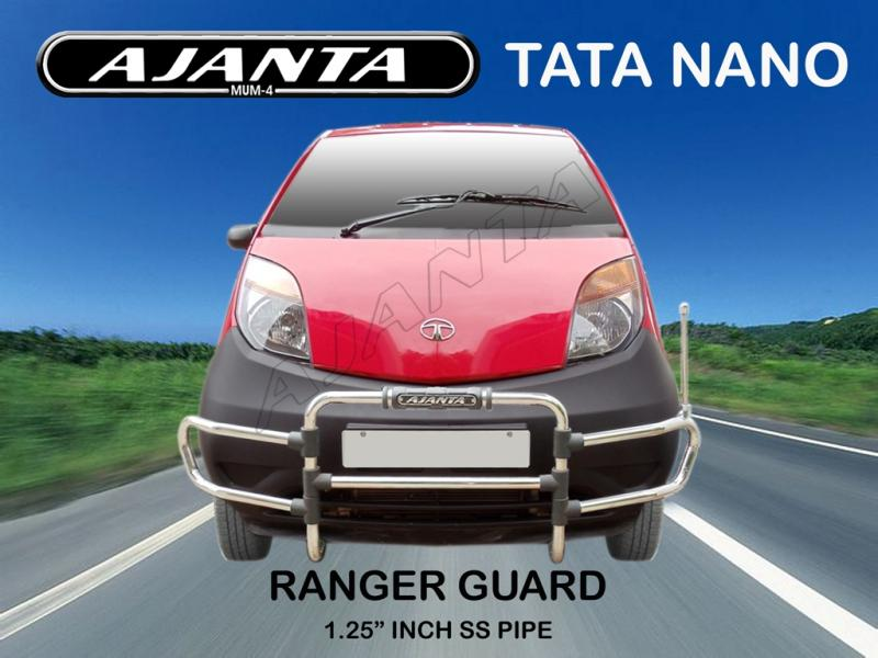 NANO-ACCESSORIES-FRONT-GUARD STEEL-RANGER-guard-AJANTA-MUMBAI-RAKESH MISTRY-IND