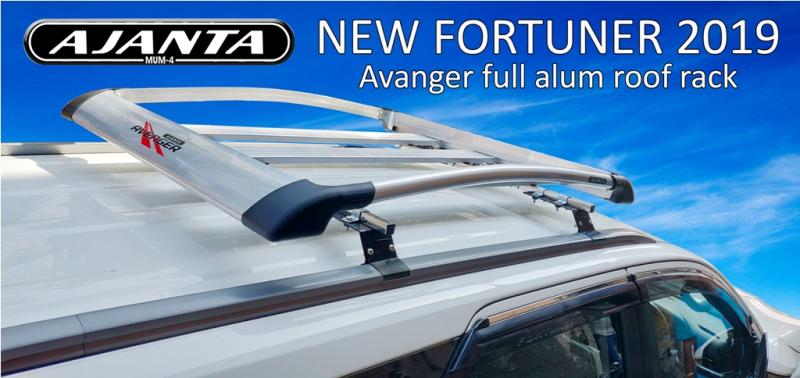 NEW FORTUNER 2018-19 ROOF RACK FIX WITH OE FITTING-ROOF RAIL FIX LUGGAGE CARRIER