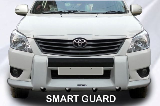 NEW INNOVA-SMART GUARD-FRONT BUMPER GUARD-FRP-AJANTA
