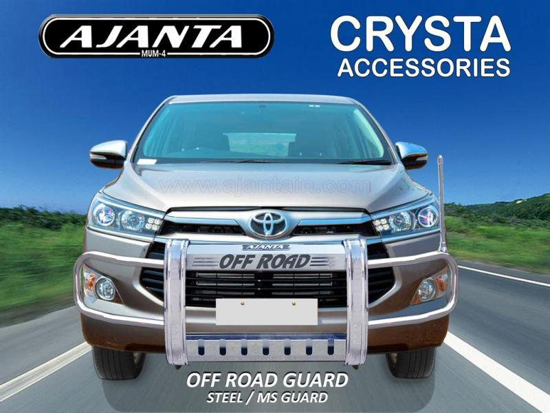 NEW INNOVA CRYSTA LATEST-ACCESSORIES-OFFROAD FRONT GUARD-AJANTA-guard manufactur