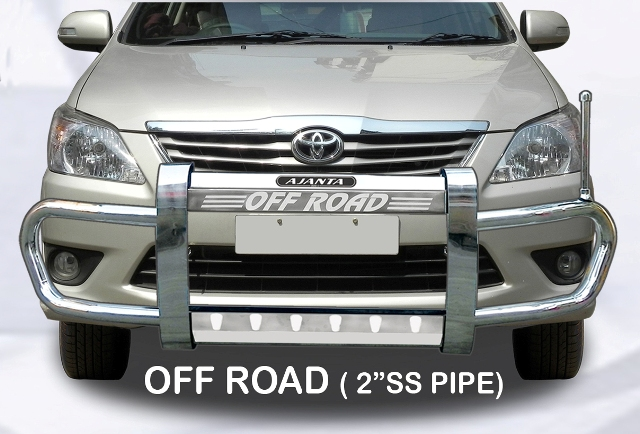 NEW INNOVA OFF ROAD-FRONT GUARD-STEEL-SAFTY GUARD-AJANTA