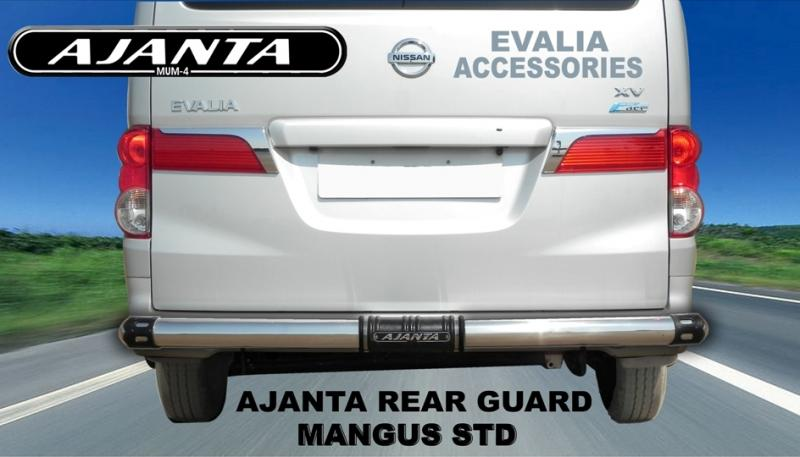 NISSAN EVALIA REAR GUARD-NISSAN ACCESSORIES-AUTO ACCESSORIES