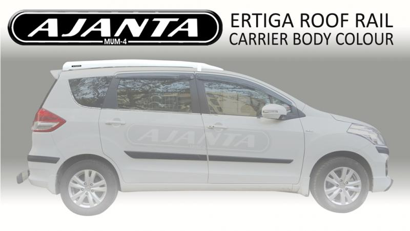 New Roofrail carrier Ertiga Ajanta latest body colour roof rail FRP luggage rack