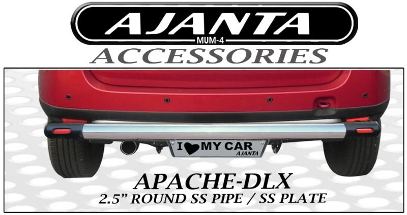REAR-GUARD-APACHE-DLX-FOR DUSTER-BACK-GUARD-STEEL-PIPE-AJANTA-MUMBAI.MANUFACTURE