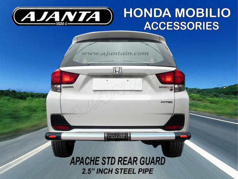 REAR-GUARD-HONDA-MOBILO-APACHE-STD-REAR-BUMPER-GUARD-AJANTA-MANUFACTURE-MUMBAI.
