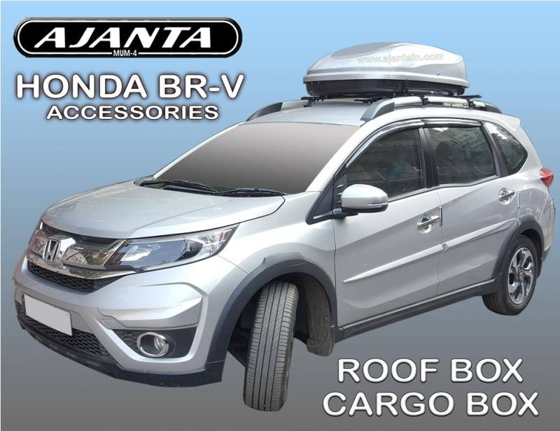 ROOF BOX-CARGO BOX FOR BRV HONDA ACCESSORIES ABS BOX AJANTA INDIA ROOF LUGGAGE.