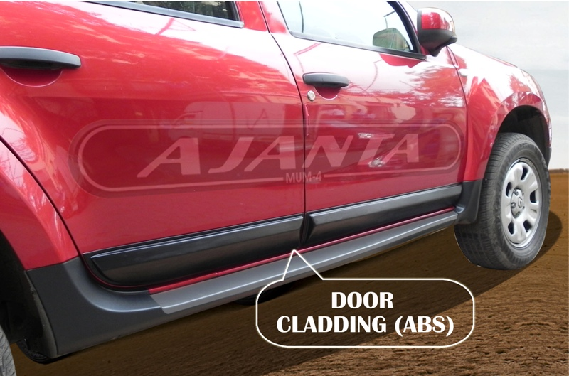 Renault duster Accessories side caladding (ABS) by AJANTA