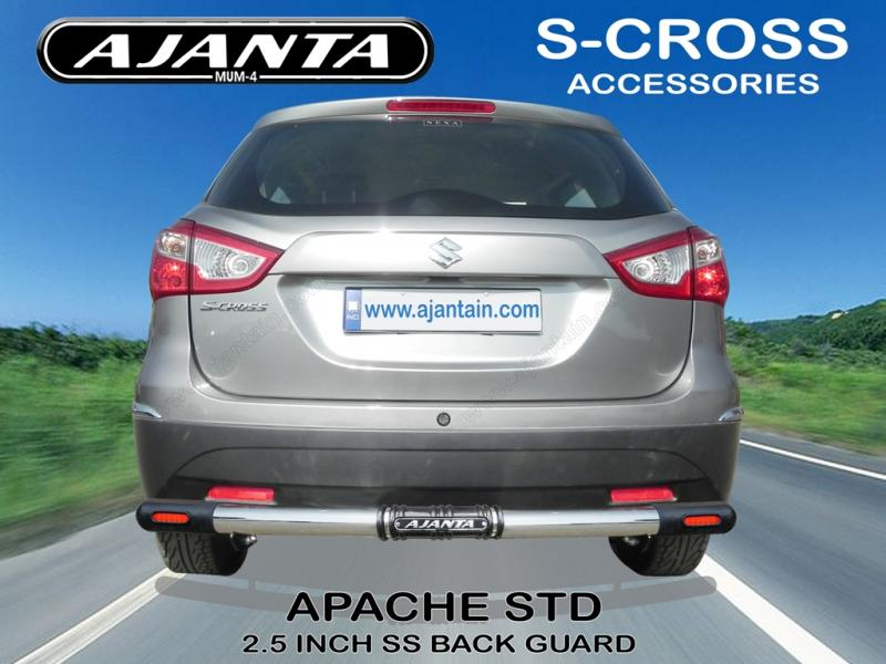 S-CROSS APACHE STD REAR GUARD AJANTA BACK GUARD FOR S-CROSS INDIA MUMBAI, RAKESH