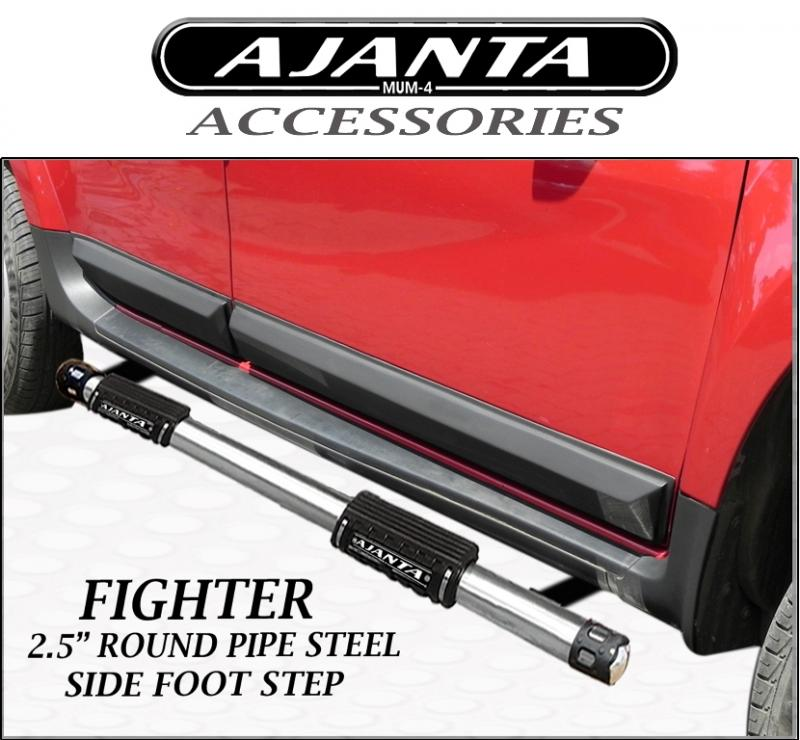 SIDE-FOOT-STEPS-DUSTER-SIDE-GUARD-STEEL-RUNNING-BOURD-FIGHTER-AJANTA-Madeinindia
