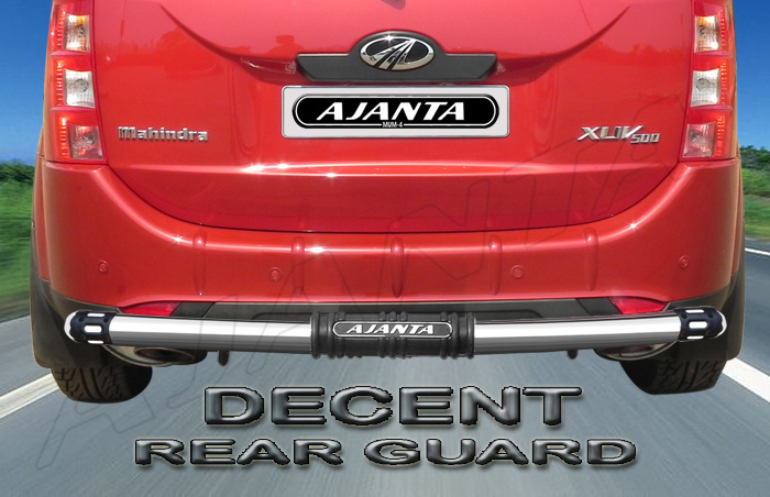 "AJANTA DECENT REAR GUARD 2.5"" STEEL PIPE FOR XUV 500"