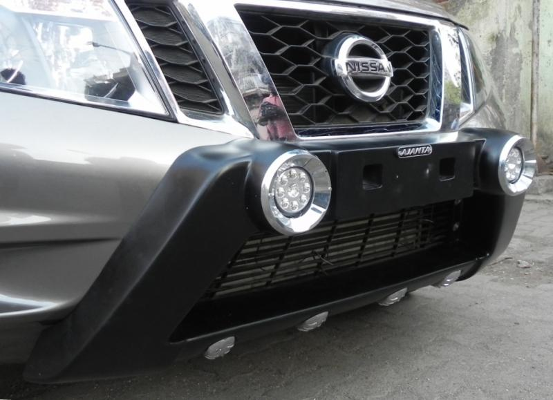ajanta-front-guard-NISSAN-TERRANO-RAMBO-GUARD-WITH- DRL-LIGHT-ajanta-mumbai-