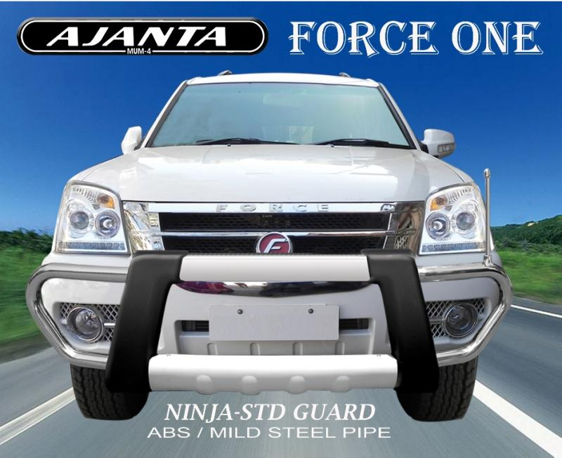 orce_one_FRONT_GUARD_NINJA_STD_guard_ABS_steel_guard_front_guard_bumper_Ajanta.
