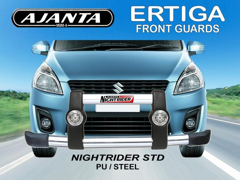 front-guard-ERTIGA-front-safety-guard-ajanta-front-guard-drl-light-pu-guard-car