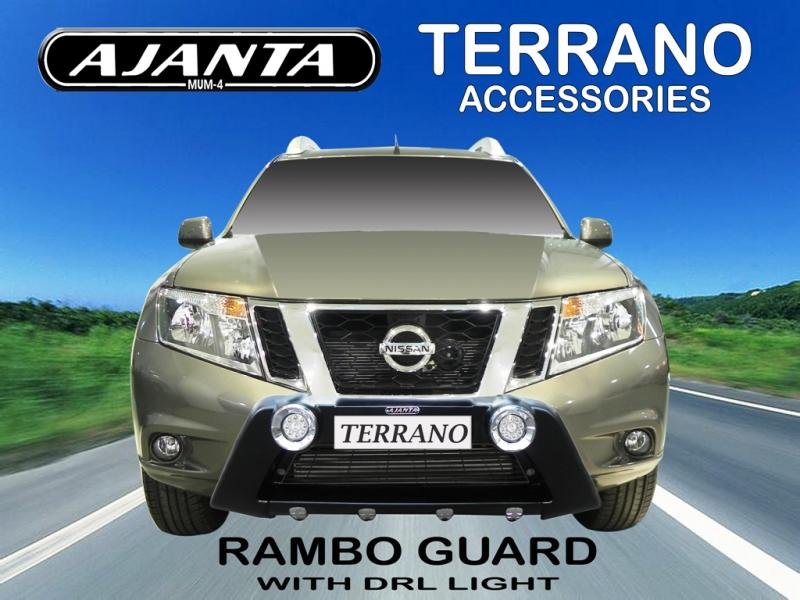 front-guard-NISSAN-TERRANO-RAMBO-GUARD-WITH- DRL-LIGHT-ajanta-mumbai-india.