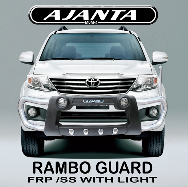 LATEST_front_guard_Fortuner_Guard_ajanta_RAMBO_FRONT_bumper_guard_with_light_LED
