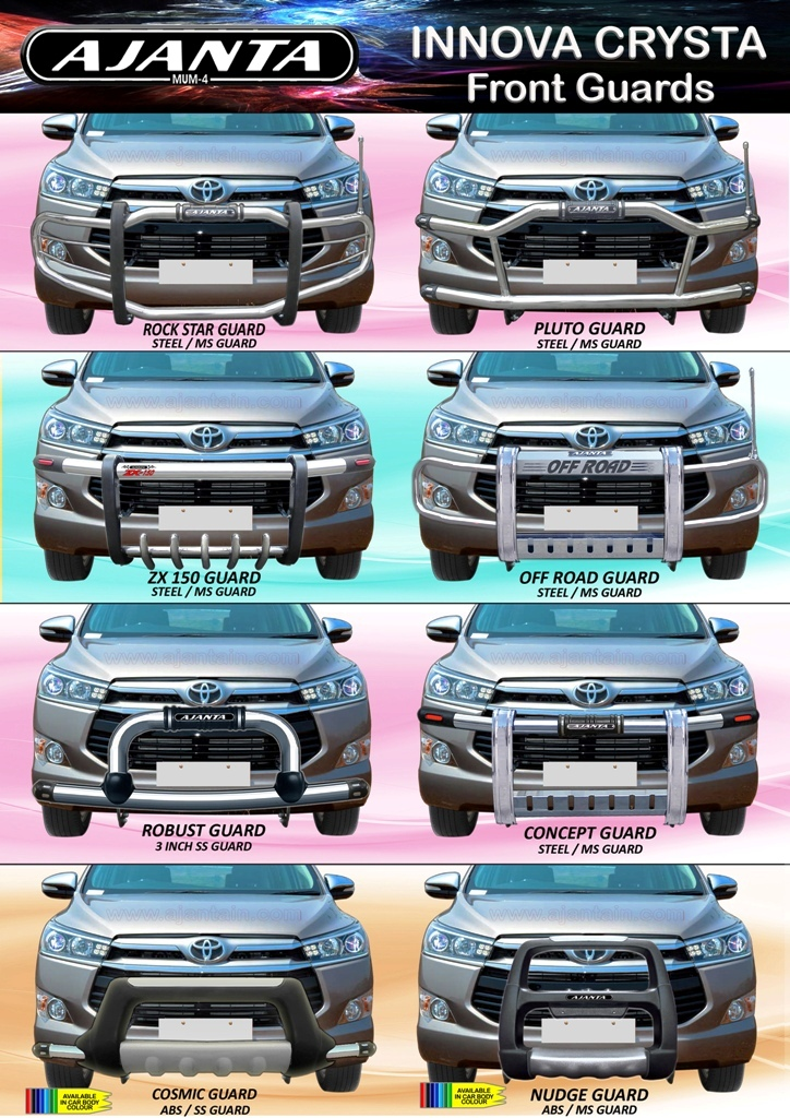 innova-crysta-accessories-steel-front-bumper-guard-abs-guard-mfg-mumbai-india.
