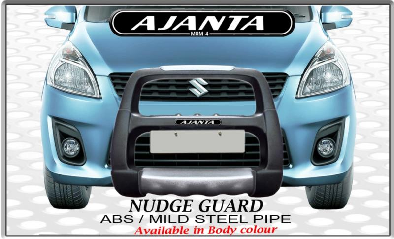 nudge-guard-ertiga-abs-plastic-bumper-guard-ajanta-india-mumbai-mfg-guard-Ajanta