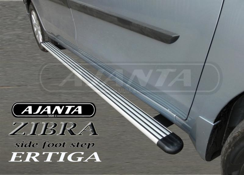 side step-foot rest- alum-pvc-sides running bord-Ertiga side guard