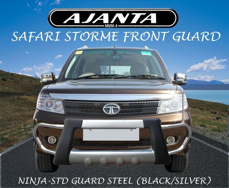 tata-safari storme-front-guard-storme-latest-front-guard-mfg-of-ss-guard-ajanta.